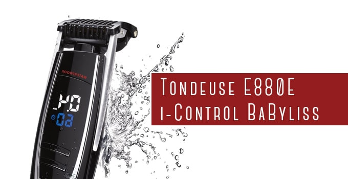 tondeuse barbe E880E i-control