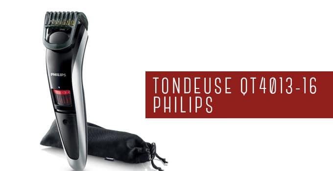 tondeuse à barbe philips qt4013-16