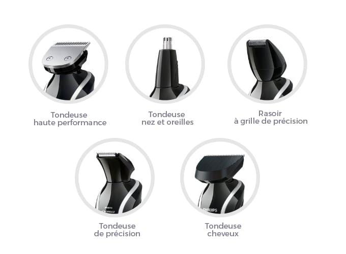 Philips qg3371/16 accessoires