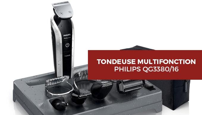 philips QG3380/16 : tondeuse multifonction - Notre Avis et test