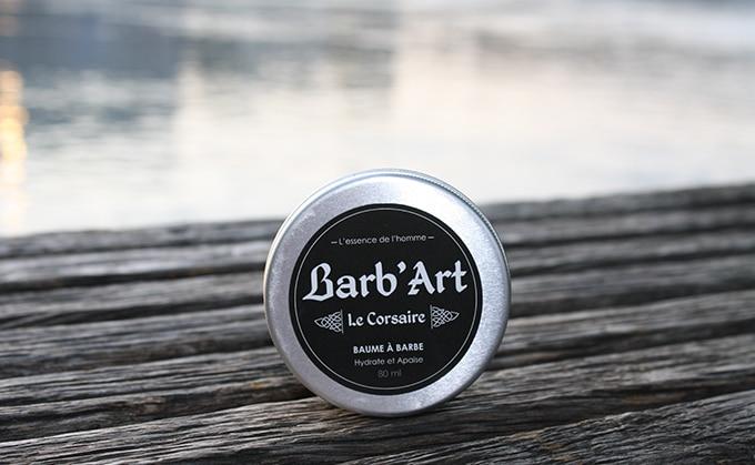 baume à barbe barb'art le corsaire avis et test