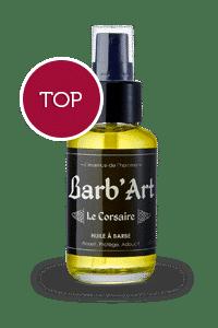 Huile à barbe Le Corsaire Barb'art