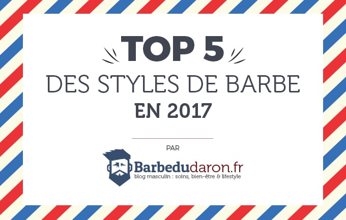 top 5 barbes 2017 infographie