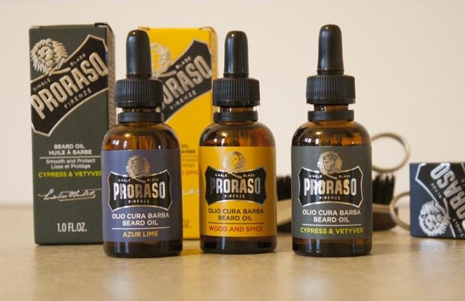 proraso huile pour barbe avis