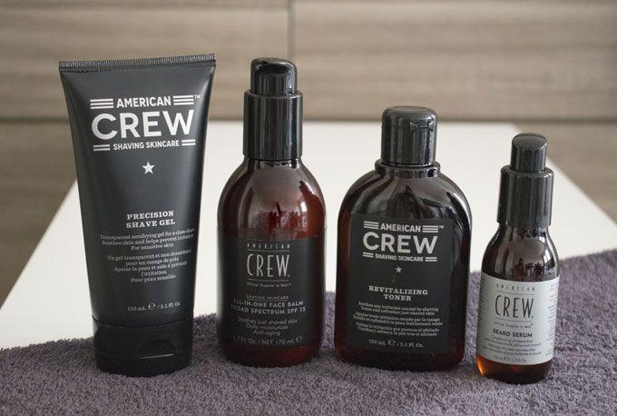 american crew soins rasage - avis test