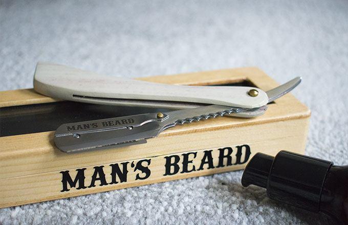 shavette man's beard