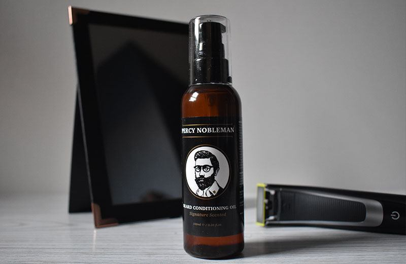 huile à barbe Percy Nobleman Signature Scented