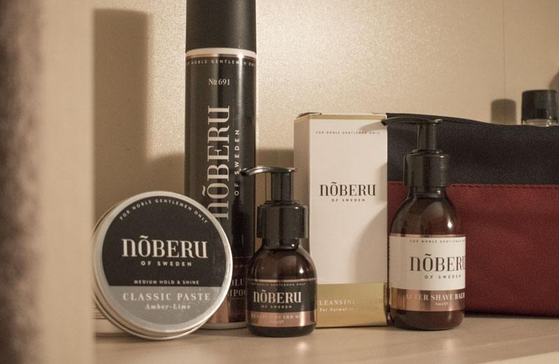 Noberu of Sweden : soins pour homme