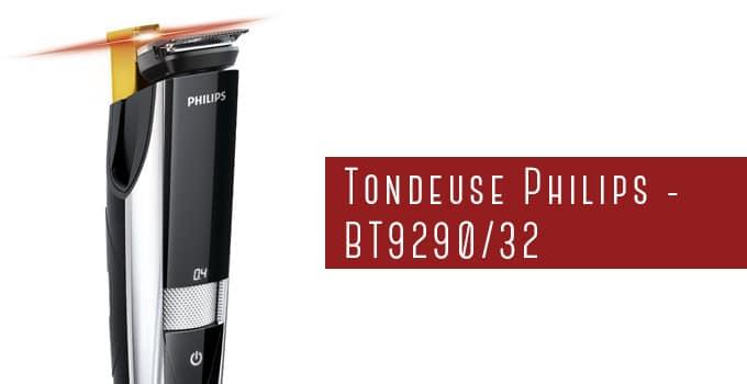 Tondeuse à barbe Philips BT9290/32 avec guidage laser