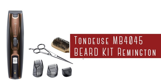tondeuse à barbe remington MB4045 beard kit