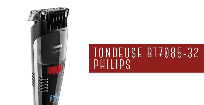 tondeuse barbe philips bt7085-32