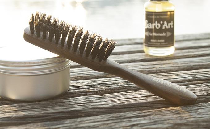 brosse à barbe barb'art - avis et test