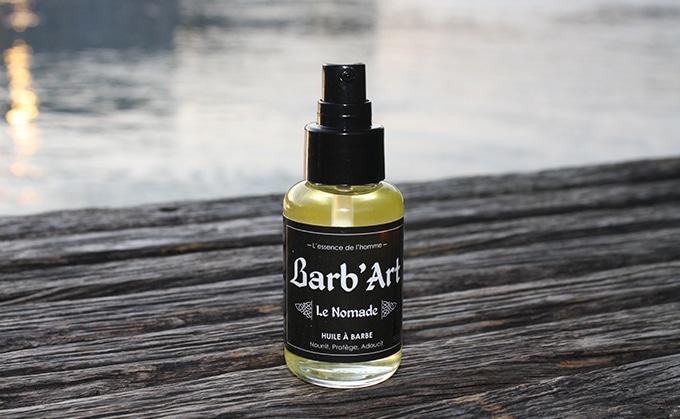 huile à barbe le nomade barb'art - avis et test