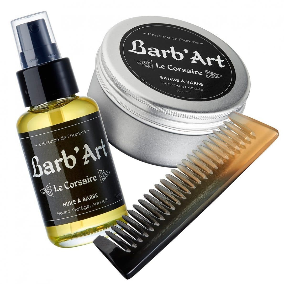 coffret barbe barb'art - le corsaire
