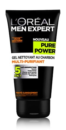 L'Oreal Men Expert Pure Power Gel avis