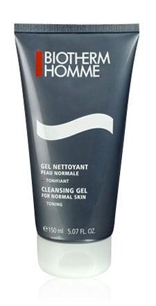gel nettoyant biotherm homme
