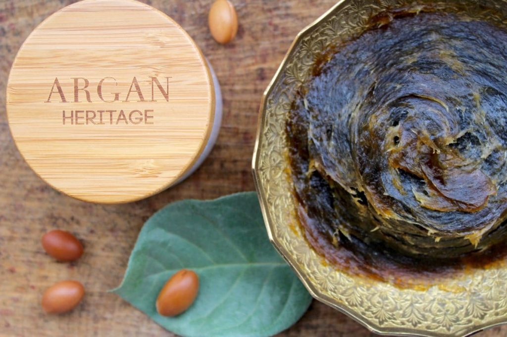 savon noir eucalyptus argan héritage