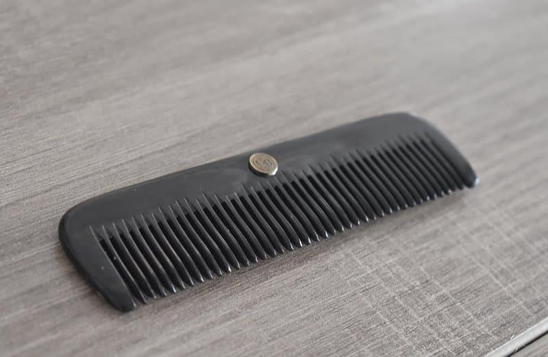 peigne corne garden barbe