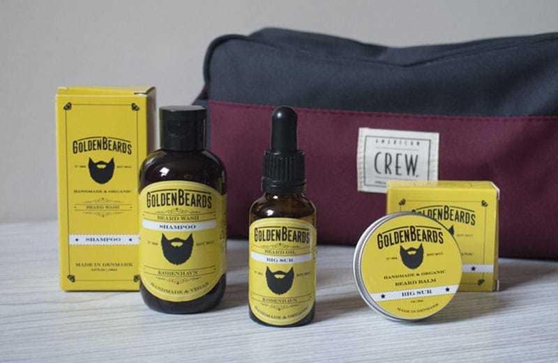 Golden Beards - soins barbe - avis et test