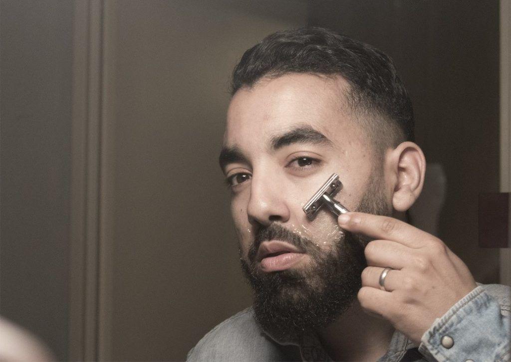 éviter feu du rasoir