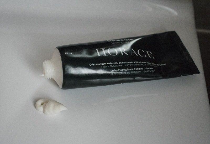 crème à raser Horace   Avis