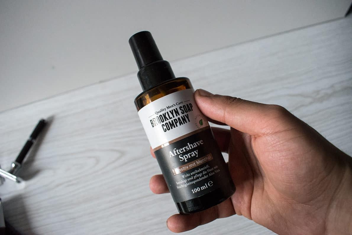 spray après rasage brooklyn soap company