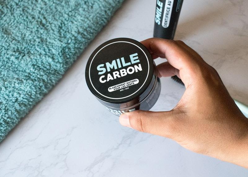 poudre au charbon smile carbon - avis