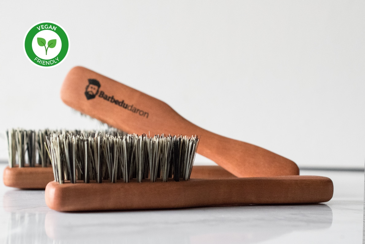 Brosse à barbe vegan Bar