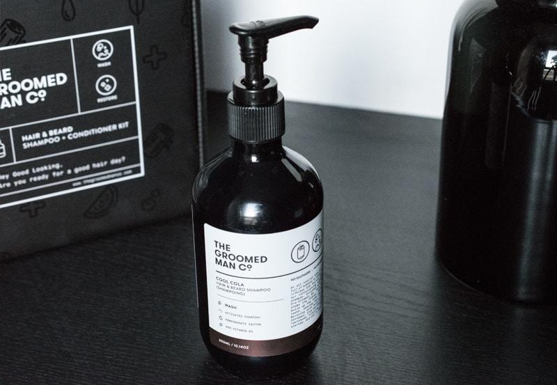 Shampoing barbe et cheveux The Groomed Man Co | Avis et test