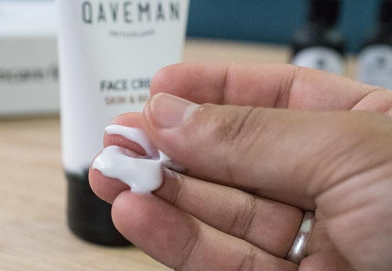 crème visage et barbe Qaveman