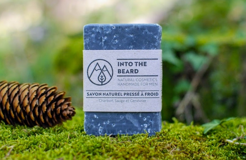 savon à froid into the beard
